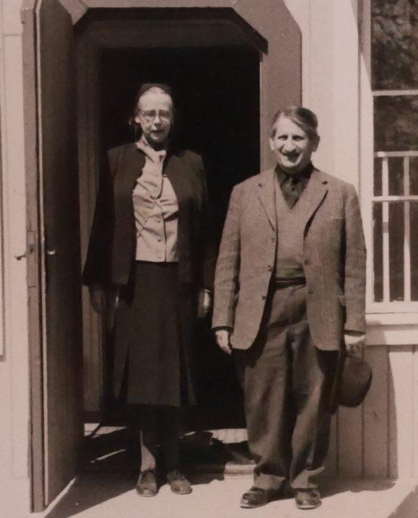 Marit Laurin och Hans Glaser