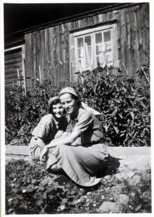 Lissa Glaser och en elev