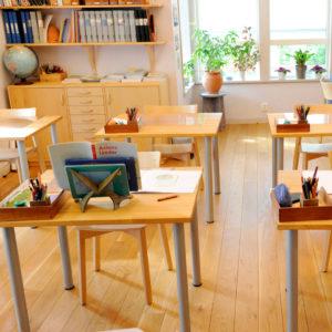 Skolmiljö, klassrum, Gymnasiesarskola i Södertälje