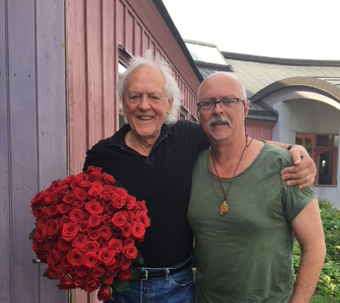 Kay Pollak firade 80 år i Järna